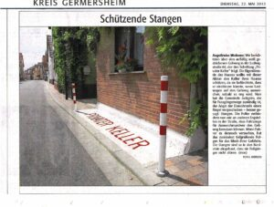 Rheinpfalz Bericht vom 22. Mai 2012